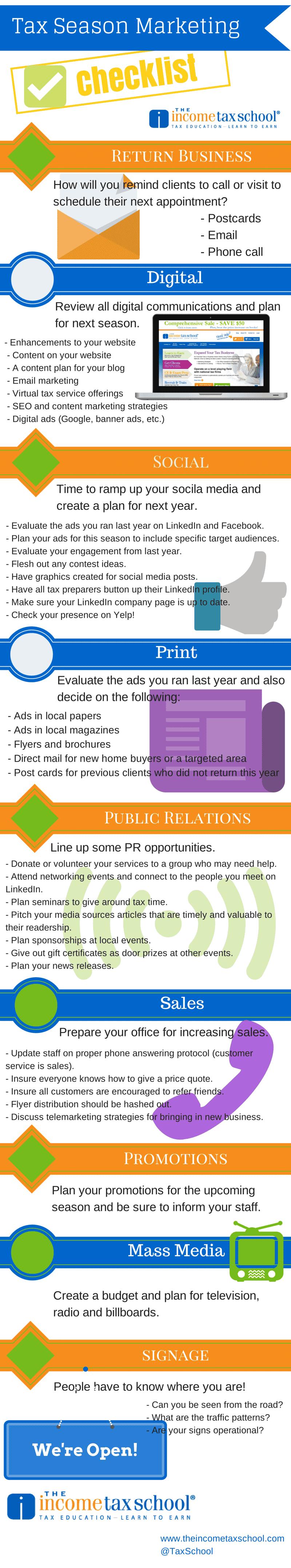 Tax-Marketing-Checklist