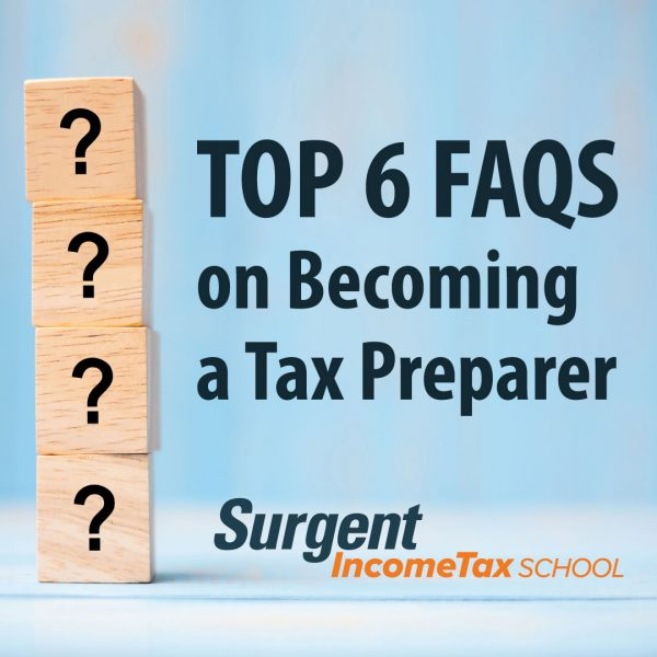 Top FAQs on becoming a tax preparer